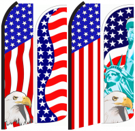 American Feather Flags