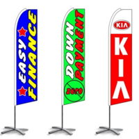 Auto Dealer Feather Flags