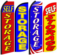 Self Storage Feather Flags