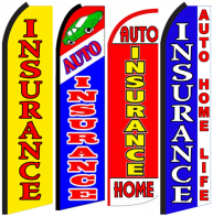 Insurance Feather Flags