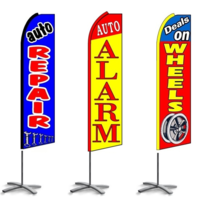 Auto Repair Feather Flags